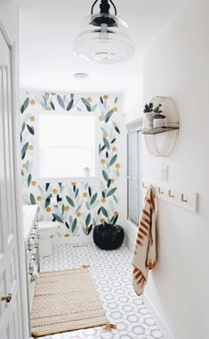 😇😇👓👍👜🧤🙂👔😵🤯👟☺️ Bathroom Colors, Small Bathroom, Colorful Bathroom, Bathroom Ideas, Master Bathroom, Bathroom Wall, Gray Bathroom Decor, Grey Bathrooms, White Bathroom