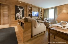Mountain home decor inspiration - Arte Rovere Antico || Photo by Duilio Beltramone for Sgsm.it ||