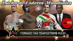HIJO DEL FANTASMA Y VLADIMIR PUTIN VS BARACK OBAMA Y PEÑA NIETO WWE 2K16...