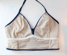 Sarah & Ava Retro Swimsuit Tutorial Part 1 – Ohhh Lulu Vintage Bikini, Vintage Swimsuits, Diy And Crafts Sewing, Sewing Projects, Beachwear, Swimwear, Draped Dress, Diy Clothes, String Bikinis