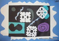 MUST DO!!! we heart art: winter matisse collages