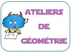 ateliers de géométrie : jeux et matériel montessori Math 8, Math Fractions, Teaching Math, Learning Activities, Kids Learning, Math Figures, School Organisation, Homeschool Math, Home Schooling