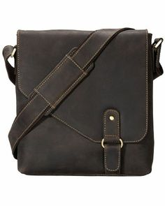 Visconti 16071 Oiled Distressed Leather Messenger Shoulder Bag Hunter for only $124.99 You save: $25.00 (17%) + Free Shipping