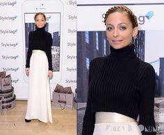 nicole richie style 2013 | Nicole Richie posed for photos at the launch of Styletag on Friday ...