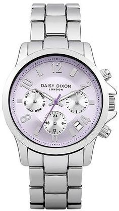 Womens ice lavender daisy dixon cara sunray multidial bracelet watch from Topshop - £80 at ClothingByColour.com
