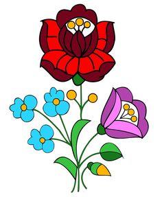 kalocsai flower - Google Search