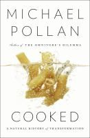 "June 2nd Pick: ""In Cooked, Pollan explores the previously uncharted territory of his own kitchen. Here, he discovers the enduring power of the four classical elements--fire, water, air, and earth--to transform the stuff of nature into delicious things to eat and drink. In the course of his journey, he discovers that the cook occupies a special place in the world, standing squarely between nature and culture. Both realms are transformed by cooking, and so, in the process, is the cook."""