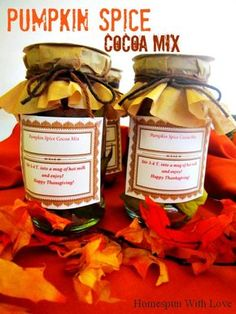 Something to give. Two of our favorite things, pumpkin and gifting others. We thought it would be interesting to mix up a recipe of s...