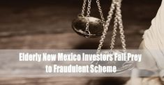 The 45-year-old investment advisor Martin Ruiz, of New York, New York, and Santa Fe, New Mexico, has been charged with investment advisor fraud for defrauding investors. He used the front of Carter Bain Wealth Management … Elderly New Mexico Investors Fall Prey to Fraudulent Scheme Read More » Stocks To Watch, Safe Investments, Brokerage Firm, Saving For Retirement, Wealth Management, Lost Money, Financial Institutions, Investors, New Mexico
