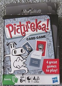 Pictureka card game: 4 ways to play.