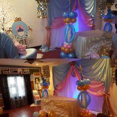 Baby cinderella baby shower