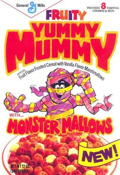 Yummy Mummy Cereal (General Mills, 1980s)