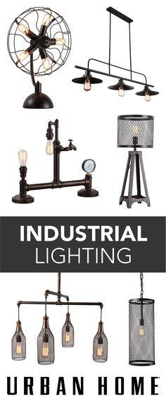 Urban Home's exclusive line of industrial lighting.