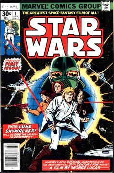 Star Wars #1. Selling in our Oct 23rd Fall Comic Auction https://moundcityauctions.hibid.com/auctioneer/auctions/current/