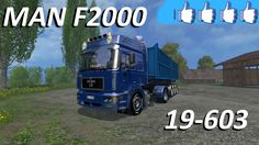 Review MAN F2000 19-603 #FS15