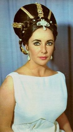 Elizabeth Taylor History of Beauty - Grace Kelly, Liz Taylor and kuafer - Sphinx.