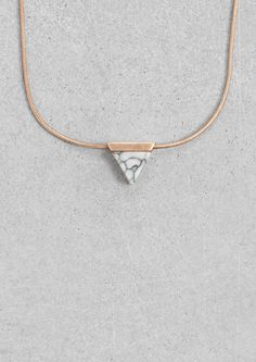 & Other Stories | Stone Necklace