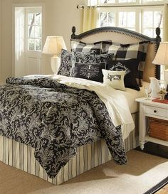 Black and White French Country Bedroom | Kindred Style | Pinterest ...