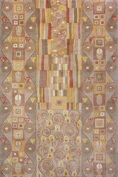 New Wave Kiss I Taupe Rug from the Modern Masters 1 collection at Modern Area Rugs