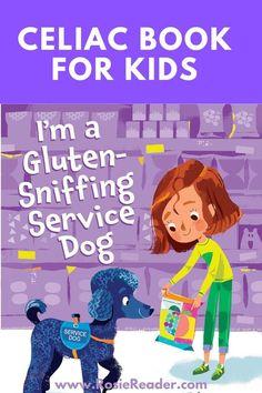 This celiac book for kids is SUPER ENGAGING!! Celiac Disease In Children, Reading Adventure, Preschool Books, Gluten Free Snacks, Kids Reading, Kids Meals, Activities