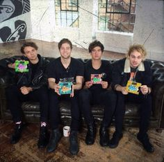 The boys with their covers