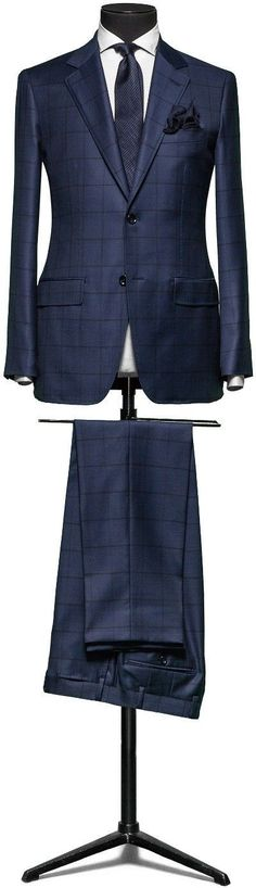 Men's #Fashion: Bespoke suit, Love the pattern and color. Fashion Items That Changed The World: http://vid.staged.com/zoVr #MensFashionClassic