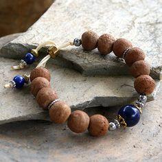 Bodhi seed wrist mala bracelet - look4treasures on Etsy, $32.95