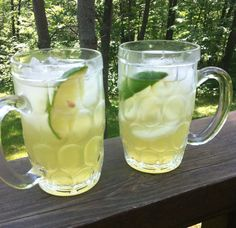 Limoncello Sangria:     1/2 cup limoncello   3/4 cup sugar   two grapefruits cut into chunks  two oranges cut into chunks   1 715 ml bottle of white wine     1.Let everything soak overnight and serve with lots of ice and chunks of lime.