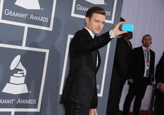 JT brings his Speck CandyShell to the red carpet