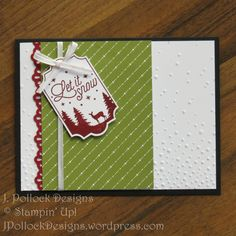 J. Pollock Designs - Stampin' Up! - Merry Little Labels
