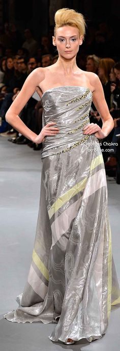 Georges Chakra Spring 2014 Couture Collection jaglady