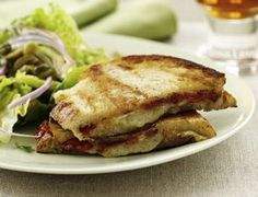 Spanish-Style Pressed Ham and Cheese Sandwiches