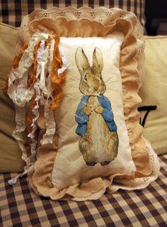 Peter Rabbit Pillow
