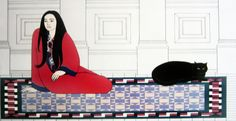 Soliloquy AP 1979 by Will Barnet - Lithograph