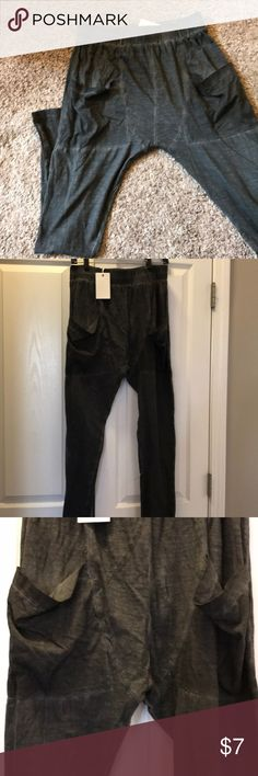 Harem pant, Charcoal in color. New, with tags. Pants Track Pants & Joggers