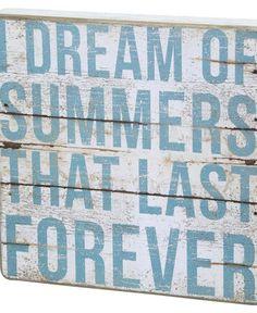 Summer Forever Wall Decor