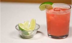 Watermelon Gin Fizz - low cal cocktails!