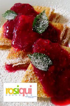 Berries crepes, crepas de frutos rojos