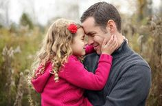 Father and Kids Photoshoot Ideas: Father and Daughter