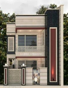 34 Ideas For Diy House Plans Front Elevation Modern Exterior House Designs, Best Modern House Design, Classic House Design, Latest House Designs, Bungalow House Design, Modern Architecture House, House Outside Design, House Front Design, Model House Plan