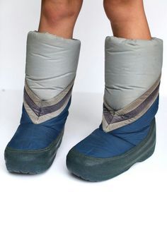I hated my moon boots!