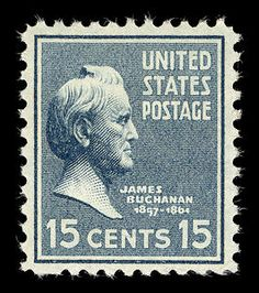 15c James Buchanan single