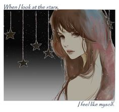 when I look at the stars by italia-kun on Polyvore featuring polyvore arte