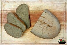 Bezlepkový chléb s konopnou moukou