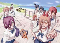 Anime Manga, Anime Art, Man Icon, Manga Collection, Angel And Devil, Manga Pages, Image Macro, Art Pages, Chainsaw