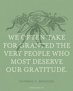 The People Who Deserve Our Gratitude