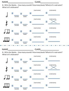 FALL/AUTUMN Music Worksheets! 24 music worksheets aimed at ...