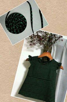 羽織から子供服② バイヤス作っておくと始末に便利