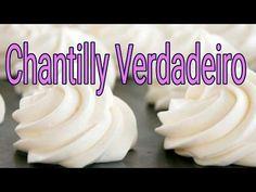 Como Bater Chantilly Caseiro Com Creme de Leite Fresco - YouTube Frosting, Icing, Desserts, Food, Youtube, Stuffing Recipes, Tasty Food Recipes, Delicious Recipes, Yummy Recipes
