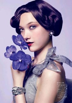 Yumi Lambert by Antonin Guidicci for Vogue Japan August 2013